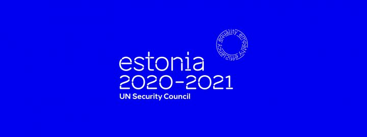 Estonia as a non-permanent member of the UN Security Council 2020-2021